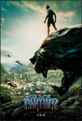 """Movie Posters:Action, Black Panther (Walt Disney Studios, 2018). Rolled, Very Fine-. One Sheet (27"""" X 40"""") DS Advance. Action.. ..."""