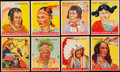 "Non-Sport Cards:Lots, 1933-47 Goudey ""Indians"" Collection (58). ..."