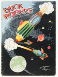 Platinum Age (1897-1937):Miscellaneous, Buck Rogers in the 25th Century #370A (without envelope) (KelloggCompany, 1933) Condition: VG+....