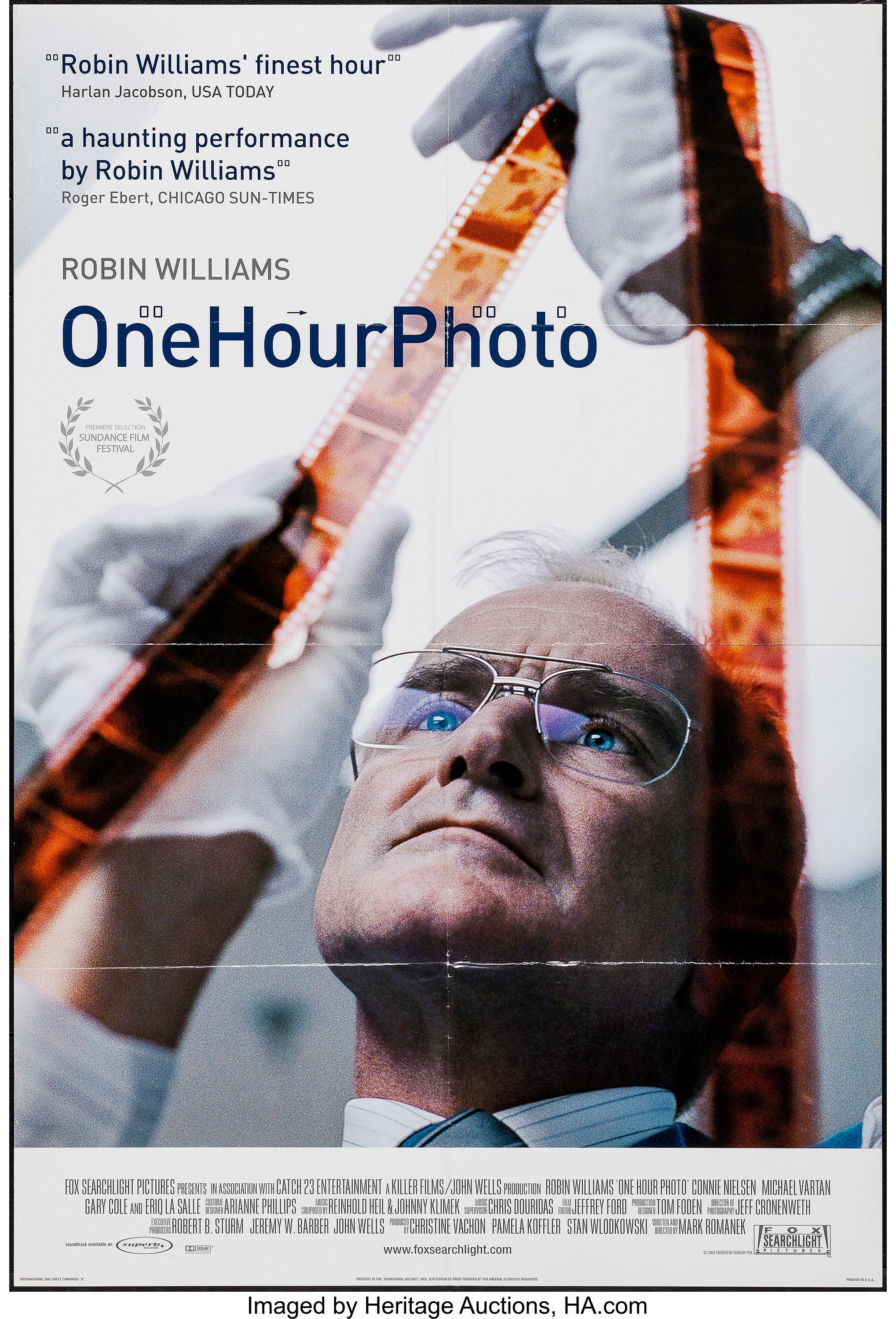 One Hour Photo & Other Lot(20th Century Fox, 2002). Folded, | Lot #52306 | Heritage Auctions