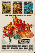 "Movie Posters:War, The Dirty Dozen & Other Lot (MGM, 1967). Folded, Fine+. One Sheets (3) (27"" X 41""). Frank McCarthy Artwork. War.. ... (Total: 3 Items)"