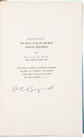 Books:Signed Editions, Richard E. Byrd Signed Copy of Discovery: The Story of the Second Byrd Antarctic Expedition. ...