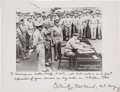 Military & Patriotic:WWII, Admiral Chester Nimitz Photograph Signed ...