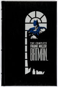 Modern Age (1980-Present):Superhero, The Complete Frank Miller Batman Hardback (Longmeadow Press, 1989) Condition: VF/NM....