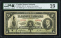 Canadian Currency, Quebec City, PQ- La Banque Nationale $5 2.11.1922 Ch.# 510-22-02 PMG Very Fine 25.. ...