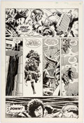 Original Comic Art:Panel Pages, Dave Gibbons Doctor Who Weekly #4 Story Page 4 Original Art (Marvel UK, 1979)....