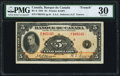 Canadian Currency, BC-6 $5 1935 PMG Very Fine 30.. ...