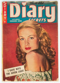 Golden Age (1938-1955):Romance, Teen-Age Diary Secrets nn (#5) (St. John, 1949) Condition: GD-....