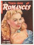 Golden Age (1938-1955):Romance, Teen-Age Romances #7 (St. John, 1949) Condition: Apparent VG+....