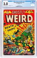 Golden Age (1938-1955):Horror, Ghostly Weird Stories #122 (Star Publications, 1954) CGC GD/VG 3.0 Cream to off-white pages....