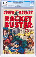 Golden Age (1938-1955):Crime, Green Hornet Comics #44 (Harvey, 1949) CGC VF/NM 9.0 Cream to off-white pages....
