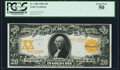 Large Size:Gold Certificates, Fr. 1186 $20 1906 Gold Certificate PCGS About New 50.. ...