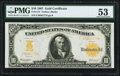 Large Size:Gold Certificates, Fr. 1172 $10 1907 Gold Certificate PMG About Uncirculated 53.. ...