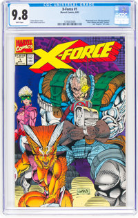 X-Force #1 (Marvel, 1991) CGC NM/MT 9.8 White pages