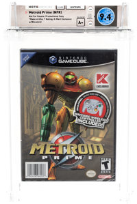Metroid Prime [NFR] (GameCube, Nintendo, 2006) Wata 9.4 A+ (Seal Rating)