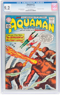 Aquaman #1 (DC, 1962) CGC NM- 9.2 Off-white to white pages
