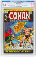 Bronze Age (1970-1979):Superhero, Conan the Barbarian #15 (Marvel, 1972) CGC NM+ 9.6 Off-white to white pages....