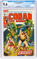 Bronze Age (1970-1979):Adventure, Conan the Barbarian #8 (Marvel, 1971) CGC NM+ 9.6 Off-white to white pages....