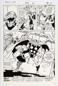 Original Comic Art:Panel Pages, Sal Buscema Thor #373 Page 23 Original Art (Marvel, 1986)....
