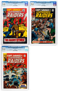 Silver Age (1956-1969):War, Captain Savage and His Leatherneck Raiders #3, 6, and 7 CGC-Graded Group (Marvel, 1968).... (Total: 3 )