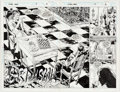 Original Comic Art:Panel Pages, Gene Ha and Joe Rubinstein The X-Men Annual #3 Double-Spread Pages 2 and 3 Original Art Group of 2 (Marvel, 1994).... (Total: 2 Original Art)