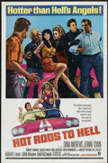 """Movie Posters:Cult Classic, Hot Rods to Hell (MGM, 1967). One Sheet (27"""" X 41""""). Cult Classic...."""