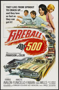 """Movie Posters:Action, Fireball 500 (American International, 1966). One Sheet (27"""" X 41"""").Action...."""