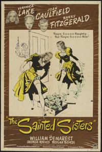 """The Sainted Sisters (Paramount, 1948). One Sheet (27"""" X 41""""). Comedy"""