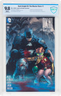 Dark Knight III: The Master Race #1 Jim Lee Retailer Incentive (DC, 2016) CBCS NM/MT 9.8 White pages