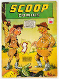 Golden Age (1938-1955):Superhero, Scoop Comics #1 (Chesler, 1941) Condition: Apparent VG....