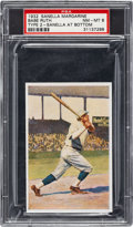 Baseball Cards:Singles (1930-1939), 1932 Sanella - Type 2 Babe Ruth PSA NM-MT 8....