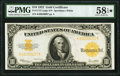 Large Size:Gold Certificates, Fr. 1173 $10 1922 Gold Certificate PMG Choice About Unc 58 EPQ★ .. ...