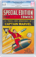 Golden Age (1938-1955):Superhero, Special Edition Comics #1 (Fawcett Publications, 1940) CGC FN 6.0 Cream to off-white pages....