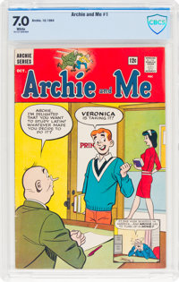 Archie and Me #1 (Archie, 1964) CBCS FN/VF 7.0 White pages