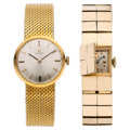 Estate Jewelry:Watches, Lady's Gold Watches. ... (Total: 2 Items)