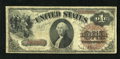 Fr. 28 $1 1880 Legal Tender Fine. This is the scarcest Friedberg number of the three for this design. A few pinholes are...