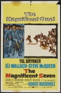 """Movie Posters:Western, The Magnificent Seven (United Artists, 1960). One Sheet (27"""" X 41""""). Western...."""