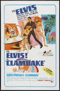 "Movie Posters:Elvis Presley, Clambake (United Artists, 1967). One Sheet (27"" X 41""). ElvisPresley...."