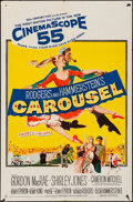 """Movie Posters:Musical, Carousel (20th Century Fox, 1956). Folded, Fine/Very Fine. One Sheet (27"""" X 41""""). Musical.. ..."""