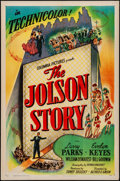"Movie Posters:Drama, The Jolson Story (Columbia, 1946). Folded, Very Fine-. One Sheet(27"" X 41"") Style B. Drama.. ..."