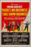 """Movie Posters:Musical, There's No Business Like Show Business (20th Century Fox, 1954).Folded, Fine/Very Fine. Autographed One Sheet (27"""" X 41""""). ..."""