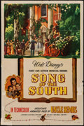 """Movie Posters:Animation, Song of the South (RKO, 1946). Folded, Fine. One Sheet (27"""" X 41""""). Animation.. ..."""