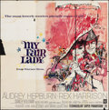 "Movie Posters:Musical, My Fair Lady (Warner Brothers, 1964). Folded, Fine-. Six Sheet (78.5"" X 79.5""). Bob Peak Artwork. Musical.. ..."