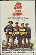 "Movie Posters:Western, The Sons of Katie Elder (Paramount, 1965). One Sheet (27"" X 41"").Western...."