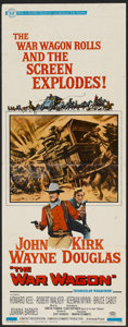 "Movie Posters:Western, The War Wagon (Universal, 1967). Insert (14"" X 36""). Western...."