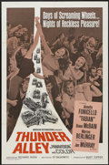 "Movie Posters:Action, Thunder Alley (American International, 1967). One Sheet (27"" X 41""). Action...."