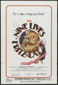 "Movie Posters:Animated, The Nine Lives of Fritz the Cat (American International, 1974). New York One Sheet (29.5"" X 45""). Animated...."
