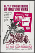 """Movie Posters:Action, Mini-Skirt Mob (American International, 1968). One Sheet (27"""" X41""""). Action...."""