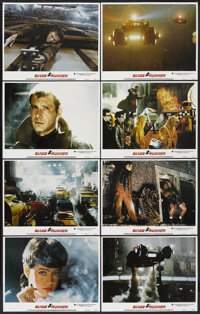 "Blade Runner (Warner Brothers, 1982). Lobby Card Set of 8 (11"" X 14""). Science Fiction.... (Total: 8 Items)"