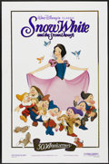 "Movie Posters:Animated, Snow White and the Seven Dwarfs (Buena Vista, R-1987). One Sheet(27"" X 41""). Animated...."